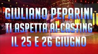 Amici 19: i casting continuano con Giuliano Peparini
